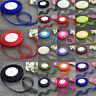 New 20mm 25mm 38mm 50mm Satin Edge Sheer Organza Ribbon Bow Decoration DIY Craft
