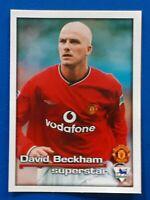 Merlin Premier League 2001 DAVID BECKHAM  Manchester United sticker 272