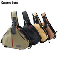 Multifunction DSLR Camera Sling Bag Tripod Rain Cover for Canon Nikon Sony Penta