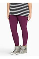 Torrid Full Length Premium Leggings Purple 0X Large 12 0 #78785