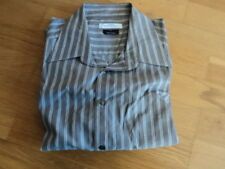 """Versace Collection Mens Brown Shirt Size 15 3/4"""" M 40 USED DG RRP £ 240"""