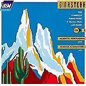 Alberto Ginastera: The Complete Piano Music, Vol. 1. Alberto Portugheis. ASV