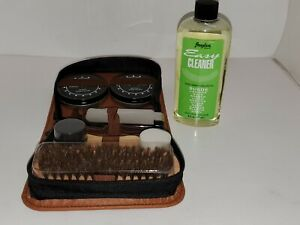 ULTIMATE Shoe Cleaning Kit:  Angelus Easy Suede Cleaner 8oz  + Brushes/ polish