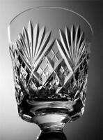 One Webb Corbett Crystal Cut Glass Wine Water Glass Juno Pattern Christmas Gift