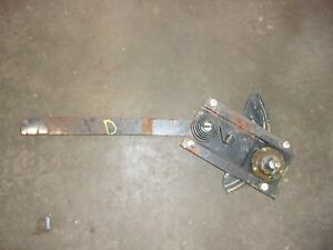 OEM JEEP CJ & YJ WRANGLER DOOR GLASS WINDOW REGULATOR LEFT/DRIVERS 1976-1991
