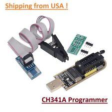 CH341A Programmer Flashing Module w/ Test Clip For EEPROM 93CXX/25CXX/24CXX