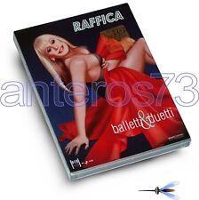 "RAFFAELLA CARRA ""RAFFICA 2"" RARO DVD + 2CD TV SHOWS - SEALED"