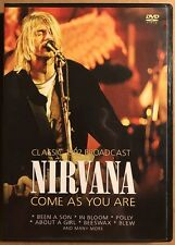 Nirvana: Come As You Are - Live (DVD, 2015, Canadian)