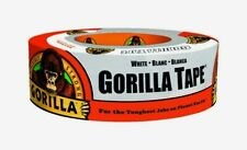 "Gorilla Tape WHITE 1.88"" x 10 yd Toughest Jobs Double-Thick Adhesive 6010002 NEW"