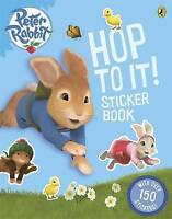 Peter Rabbit Animation: Hop to It! Sticker Book by Puffin Book T