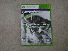TOM CLANCY'S SPLINTER CELL BLACKLIST...XBOX 360...**SEALED**BRAND NEW**!!!!