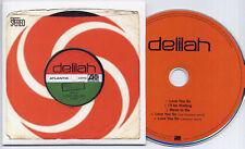 DELILAH Love You So 2011 UK 5-track promo test CD Joe Goddard Hot Chip