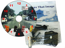 DIY CD Clock KIT. Jelly Road, Something Different - Can be Wall or Desk Clock