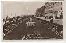 Carpet Gardens - Eastbourne Real Photo Postcard 1931