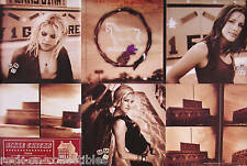 Dixie Chicks 2002 Home Original Double Sided Perforated Promo Poster
