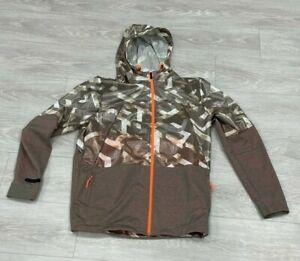 NWT Under L Armour Men's UA Hybrid Windbreaker Hunting Camo Orange Jacket $100 #