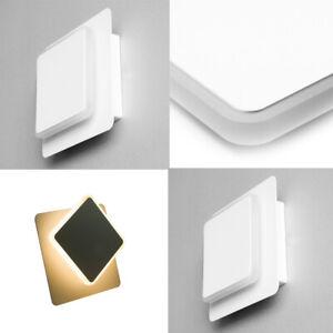 2 X LED Wall Lamp Wall Light Rotating IP44 5W Outdoor Inside Bath White