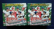 2017 Topps Holiday Mega Box~Walmart Exclusive~Judge Bellinger Auto? ~ 2 Box Lot