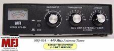 MFJ 924 Antenna Tuner - 440 MHz - SWR & Wattmeter - 440 MHz. 300 Watts