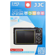 JJC 2PCS Screen Protector Film for CANON PowerShot SX720 SX710 HS SX620 610 HS