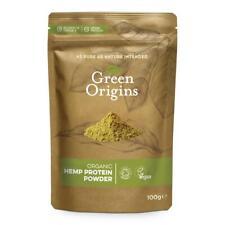 Green origines Chanvre Poudre de Protéine BRUTE 100 g