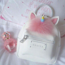 Summer Unicorn Cosplay Backpack Women Girl Casual Handbag Mini Knapsack Cute Bag