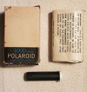 Vintage Polaroid 3000 Speed Type 47 Land Film, Black & White, Expired
