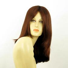 mid length wig for women dark brown copper intense ref: 322 orly  PERUK