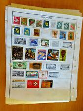 New Zealand Vintage Stamp Collection Set