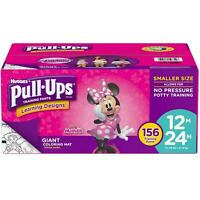 Huggies Pull-Ups Plus Training Pants Diapers for Girls Size 12M-2T-3T-4T-5T
