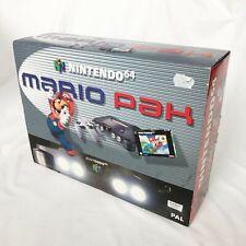 Nintendo 64 Mario Pak | Konsole & Spiel | Neuware | Super Mario 64 | New & Rare