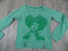 EDC by ESPRIT cooles kurzes Retroshirt grün Gr. XS StA1017