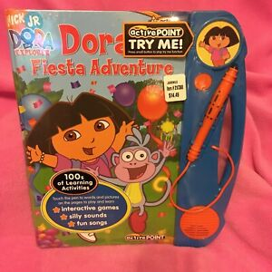 DORA'S FIESTA ADVENTURE ENGLISH TO SPANISH~COUNTING~COLORS~SOUNDS  NEW~FREE SHIP