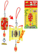 Japanese Joke Cockroach Novelty Phone Charm Key Chain/Bag Accessory By Sakamoto