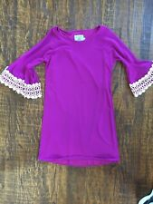 Judith March Dress Size Small, EUC Purple Bell Sleeves