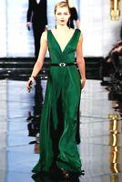 $4,998.00 Ralph Lauren Collection Purple Label Runway Adele Long Dress Gown US 6