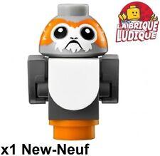 Lego - Figurine Minifig Star Wars Porg Porg02 last jedi 75200 NEUF