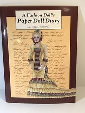 A Fashion Doll's Paper Doll Diary Peggy Jo Rosamond Uncut Book Vintage 1988 V031