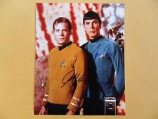 William Shatner, Leonard Nimoy 8x10 Autographed 'Star Trek' Photo