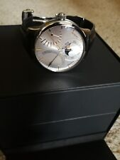 Maurice Lacroix Masterpiece Lune Retrograde Automatic mp6528-ss001-330 Wrist...