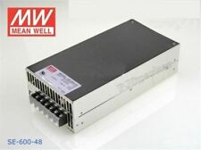 Meanwell SE-600-48 Ac/Dc Switching Power Supply 48V 12.5A 600W Single Output qs