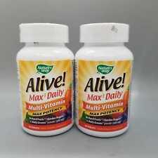 Nature's Way Alive! Max3 Daily Multi-Vitamin Max Potency 90 Tab 2PK Exp 11/20+