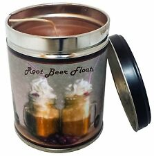 Root Beer Float Scented 13oz Tin Candle w/ Float Label by Our Own Candle Company