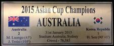 Australia Socceroos Sublimation Plaque