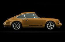 Grande STAMPA INCORNICIATA-VINTAGE PORSCHE 911 AMERICAN CLASSIC auto (FOTO POSTER)