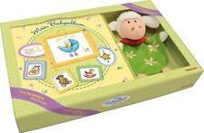 Geschenk-Set Mein Babyalbum mit kuscheliger Handpuppe Schaf Geschenk