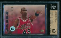 BGS 9.5 MICHAEL JORDAN 1994-95 Skybox Emotion #100 Bulls Jersey #45 HOF GEM MINT