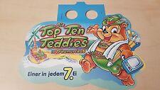 Ü-Ei Paletten Anhänger - Die Top Ten Teddies im Traumurlaub - Ferrero - 1999 - D