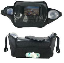 HECKBO Kinderwagen Organizer und Kinderwagentasche Handy Tasche Feuchttuchtasche