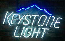 "Rare New Keystone Light Decor Lamp Bar Neon Sign 20"" Hd Vivid"